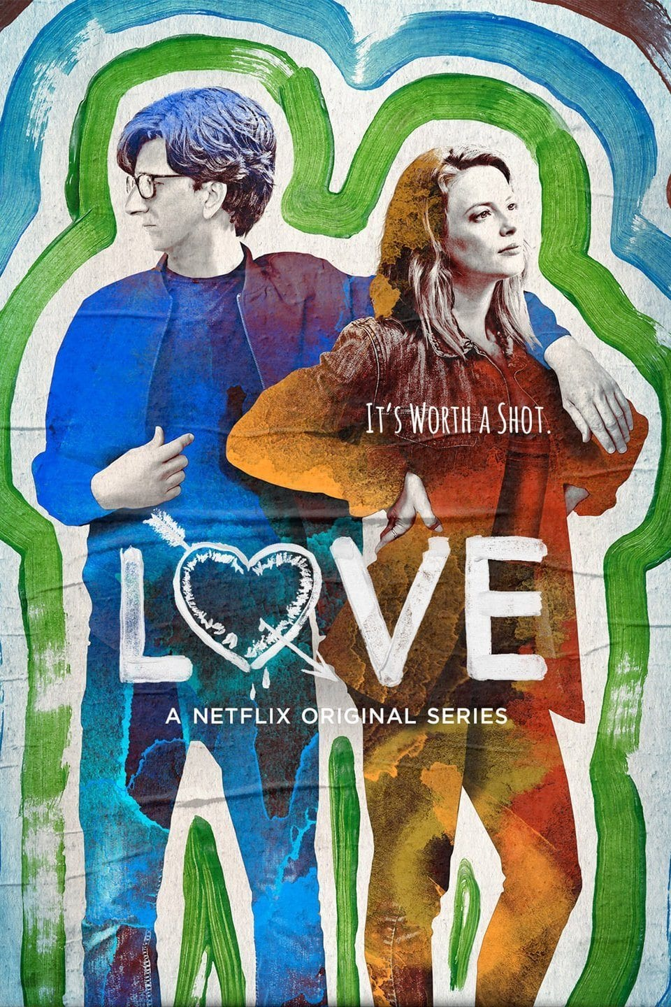 Despite billing as a romantic comedy, deeply dark, painfully authentic comedy Love season two is about as far from a frothy romance as you can get.