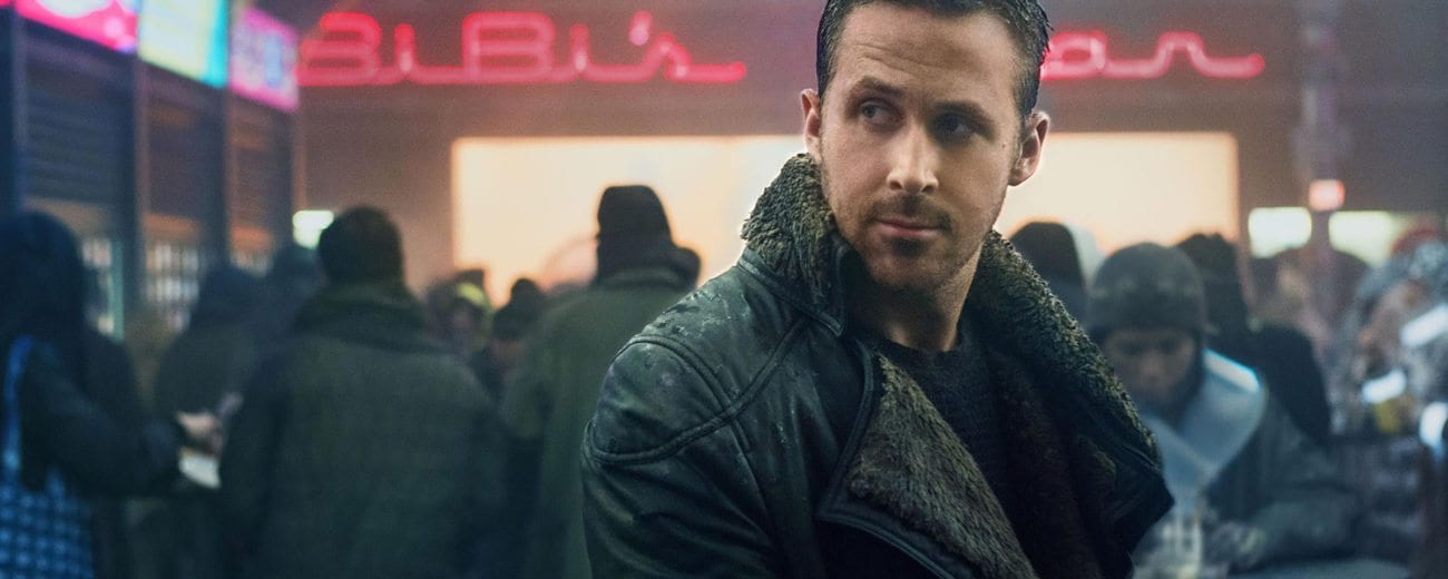 Warner Bros. Pictures debuts the first trailer for Blade Runner 2049, sequel to Ridley Scott's iconic 1982 sci-fi noir film.