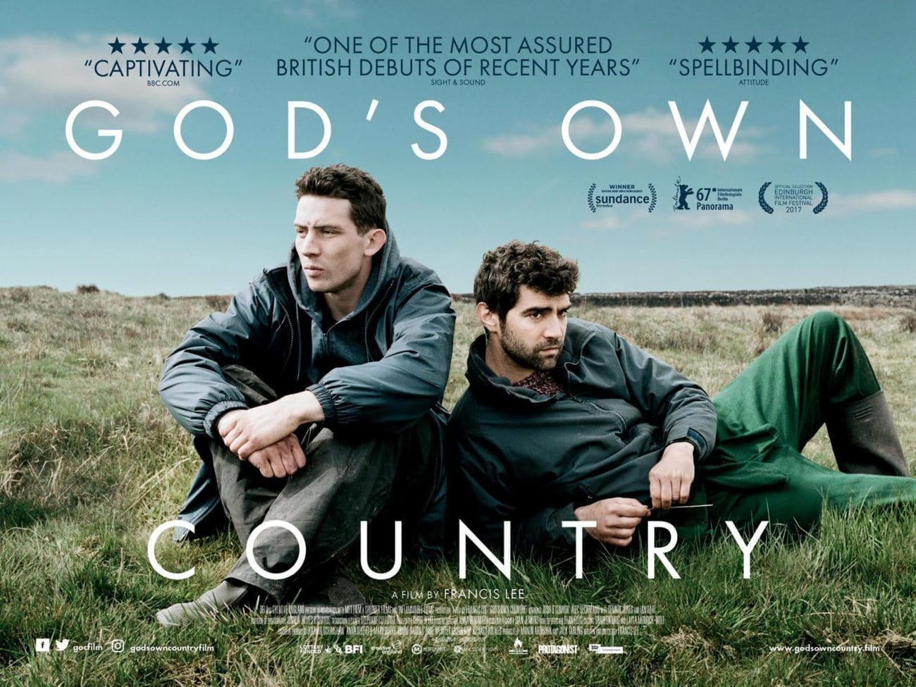 Picturehouse Entertainment has premiered the first trailer for Francis Lee's God's Own Country, set for theatrical release this September in the UK.