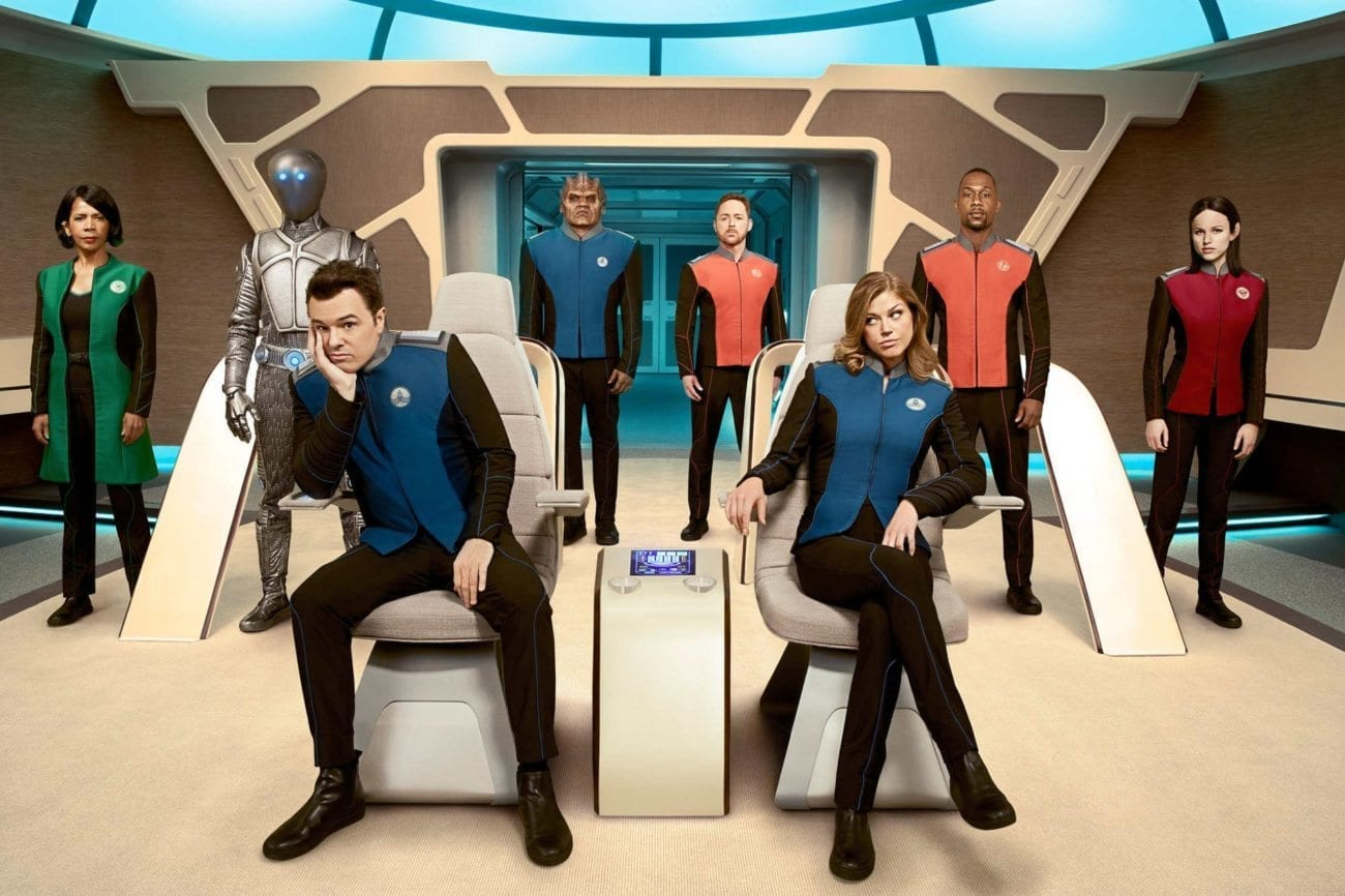 """Seth MacFarlane's sci-fi dramedy 'The Orville' has been renewed for a second season by Fox, with the network claiming it struck a """"powerful chord""""."""