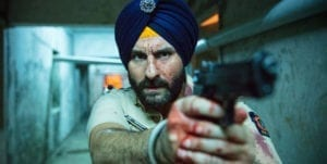 A policeman, a criminal overlord, a Bollywood film star, cultists, spies, and terrorists interweave with cataclysmic consequences in 'Sacred Games'.