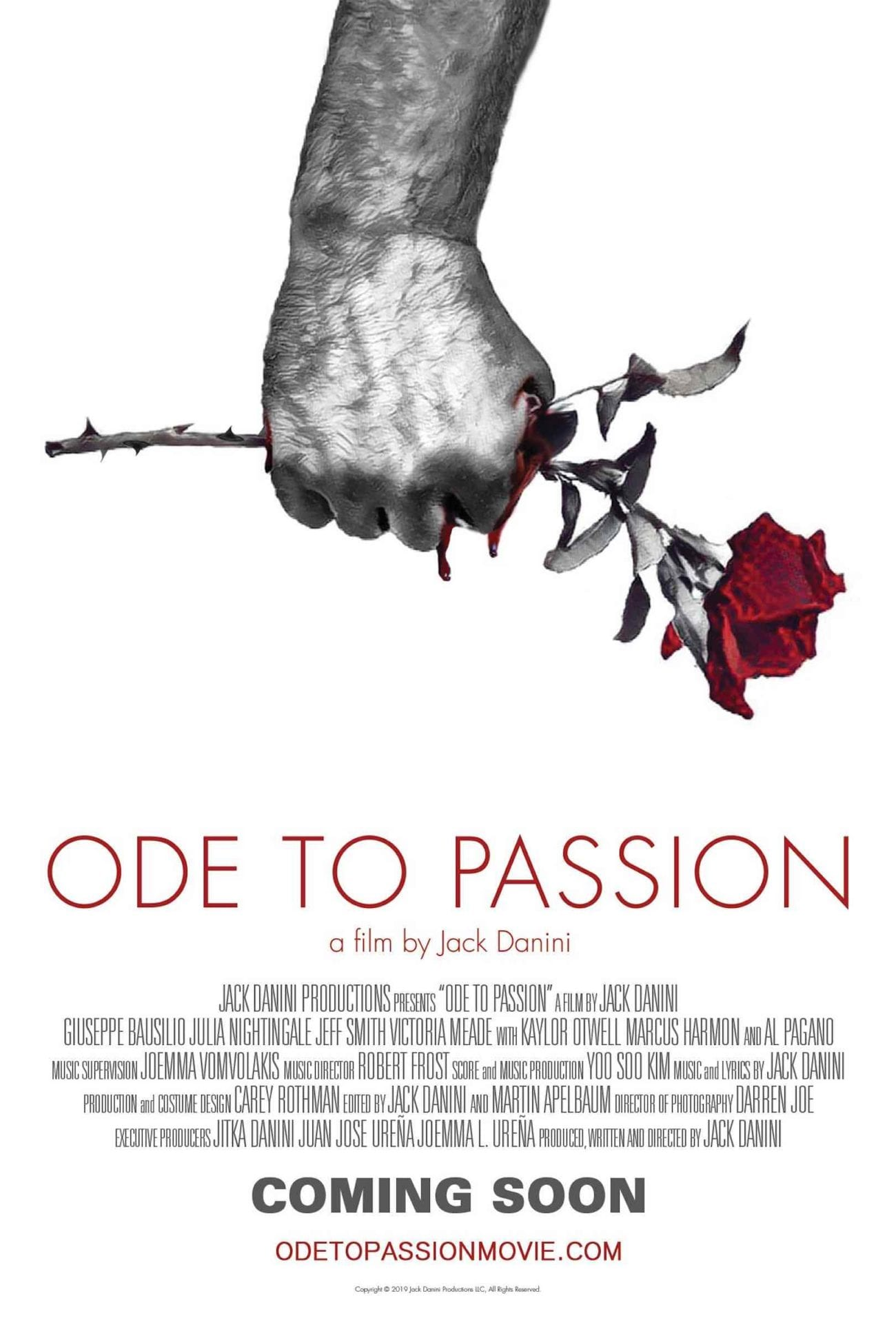 Filmmaker Jack Danini is releasing highly anticipated 'Ode to Passion'. We had the pleasure of chatting with Danini about his debut.