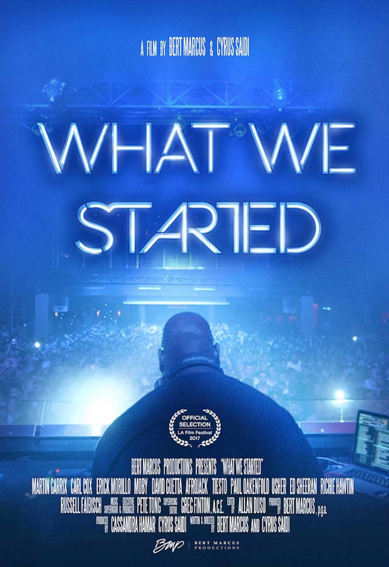 'What We Started' takes a detailed look at these men's lives, the electronic dance music they play. Here's our review on 'What We Started'.