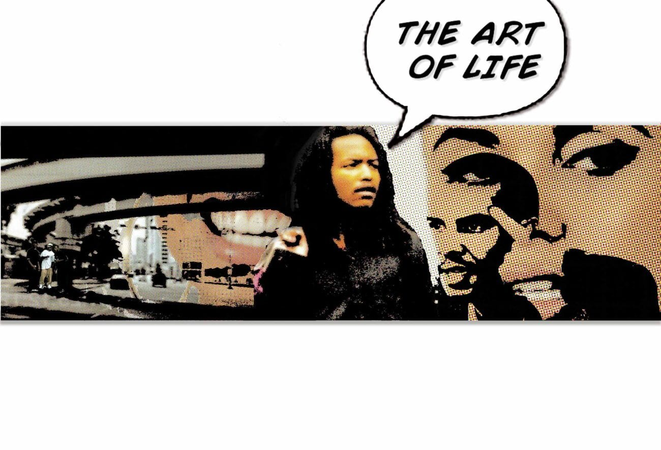 Life imitates art for a reason. Life is art, and art reflects that. Muralist and indie filmmaker Kyle Holbrook learned this early on. Here's what we know.