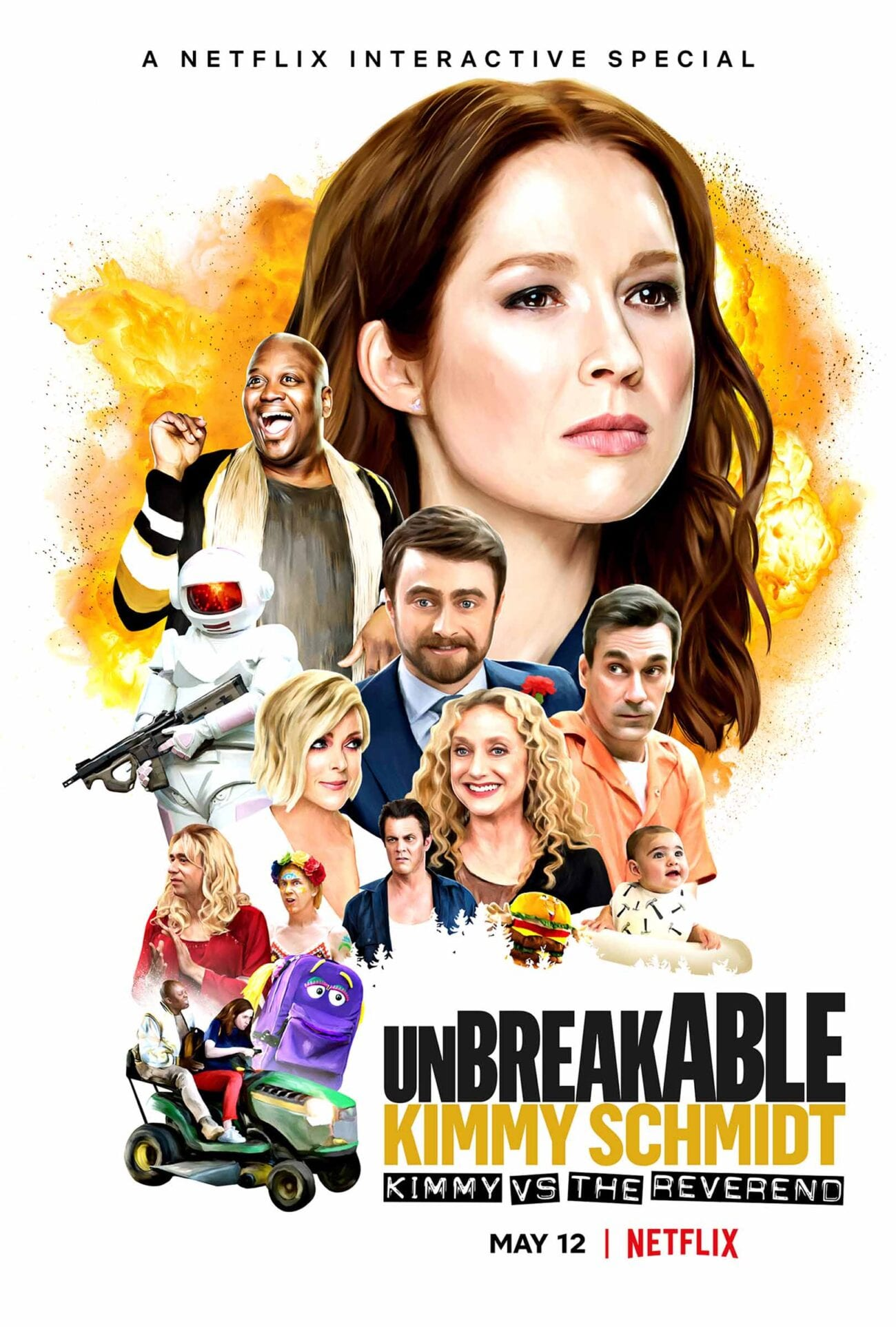 'Unbreakable Kimmy Schmidt: Kimmy Vs. the Reverend' is a fun, interactive movie filled with crazy humor, easter eggs, and famous faces.