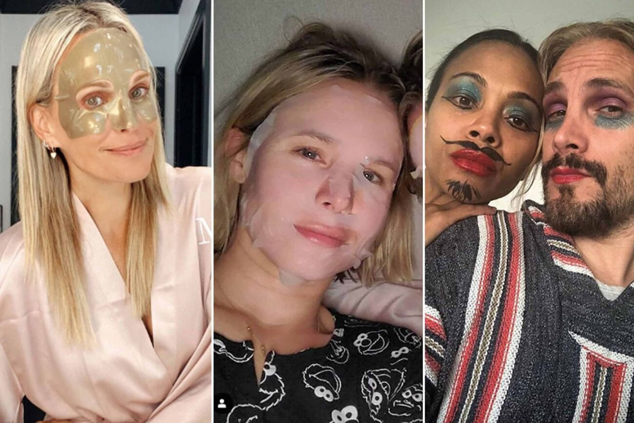 """Jonathan Van Ness said it best: """"Don't try new lewks during quarantine."""" Of course, he nor these other celebrities listened to that advice."""