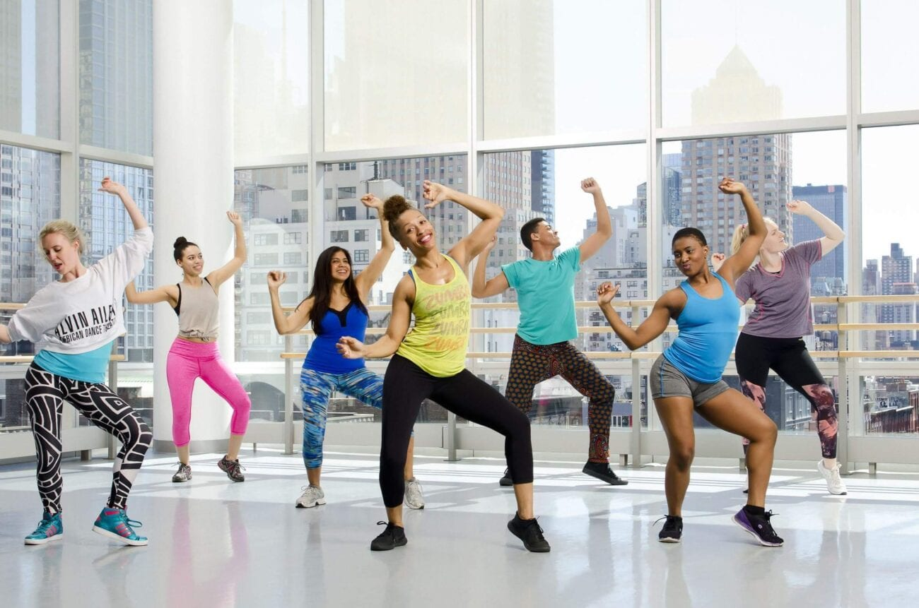 So if you're in a smaller space, and need a fun cardio workout, Zumba is the way to go. Here are online Zumba classes you can enjoy at home.