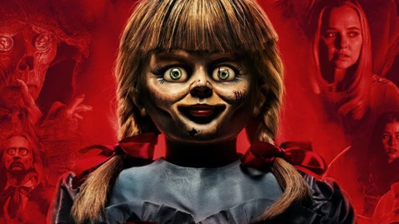 You may have been terrified by 'Annabelle', but what's even scarier is that she's a real doll. Learn more about the haunted doll and her crimes.
