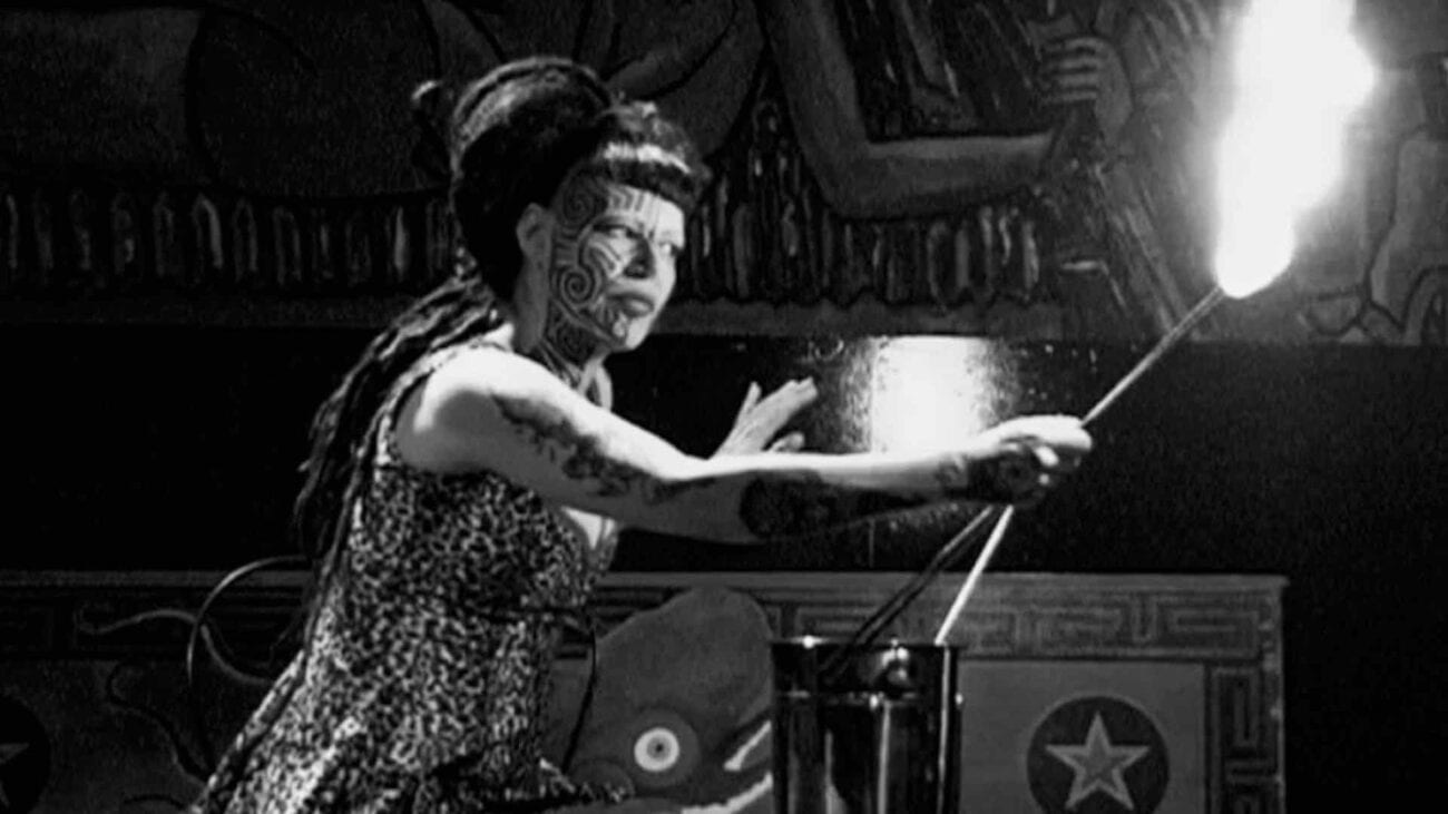 Insectavora, a famed fire-eater who was a part of the Coney Island Circus Sideshow for over a decade, director Grary Beeber made a documetary about her.