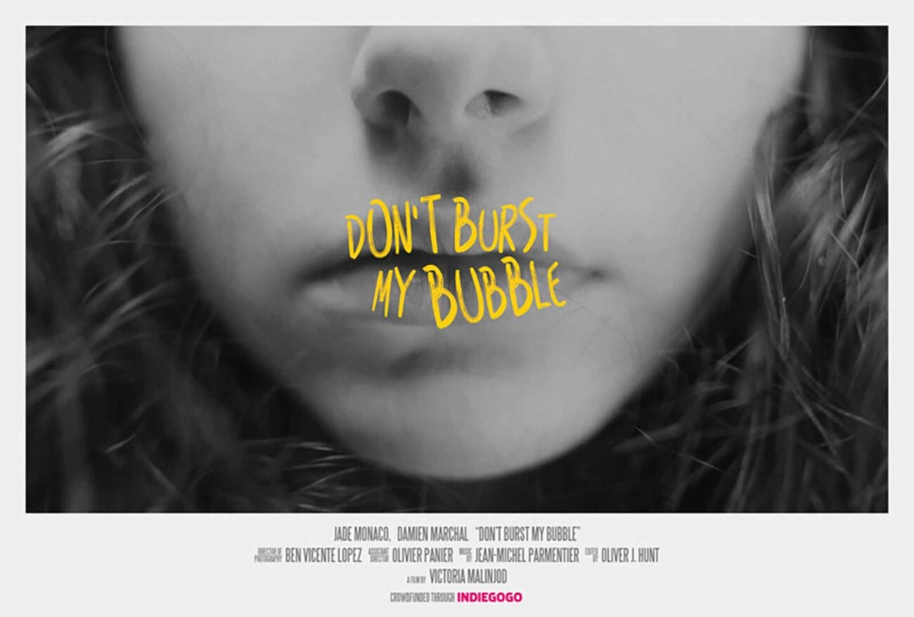 'Don't Burst My Bubble', directed by Victoria Malinjod won two awards last year. Here's everything we know about this film.