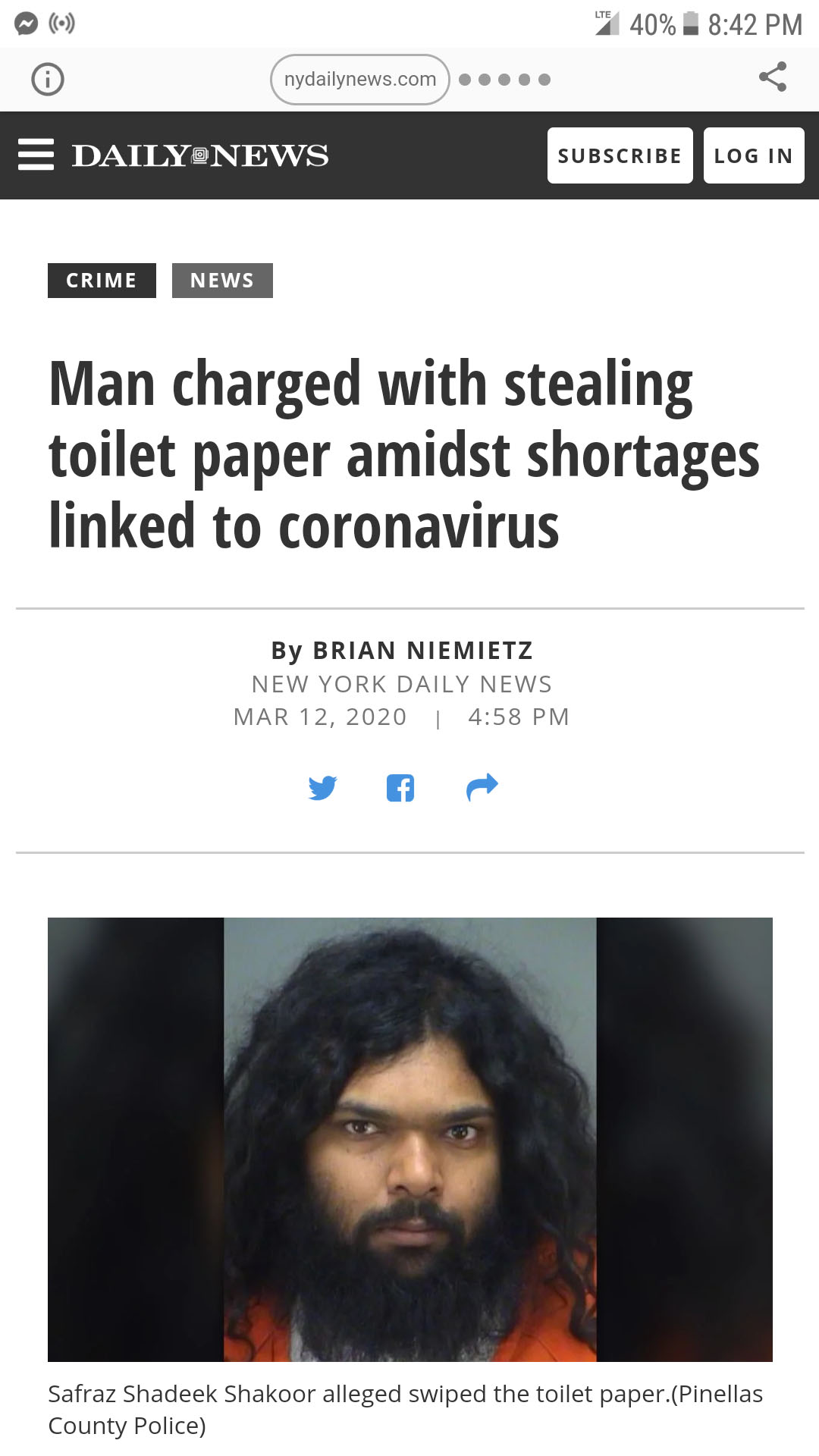 Florida Man is just as crazy as 2020 has been, and if you need any proof, check out these 2020 headlines featuring Florida Man.