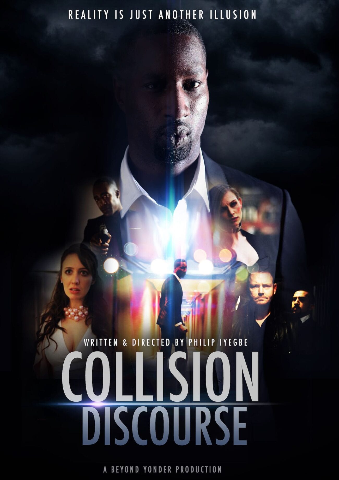 Quarantine has given Philip Iyegbe plenty of time to look to the future, like his newest film, 'Collision Discourse'. Here's our interview with Iyegbe.
