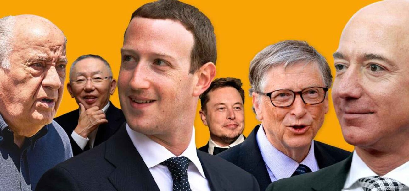 While the rest of the world suffered during the pandemic, this list of billionaires just added more digits to their net worth.