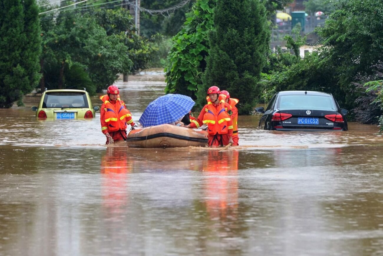 Torrential rains are threatening lives in China, causing severe flooding & landslides. How will China be impacted as this hazardous weather persists?