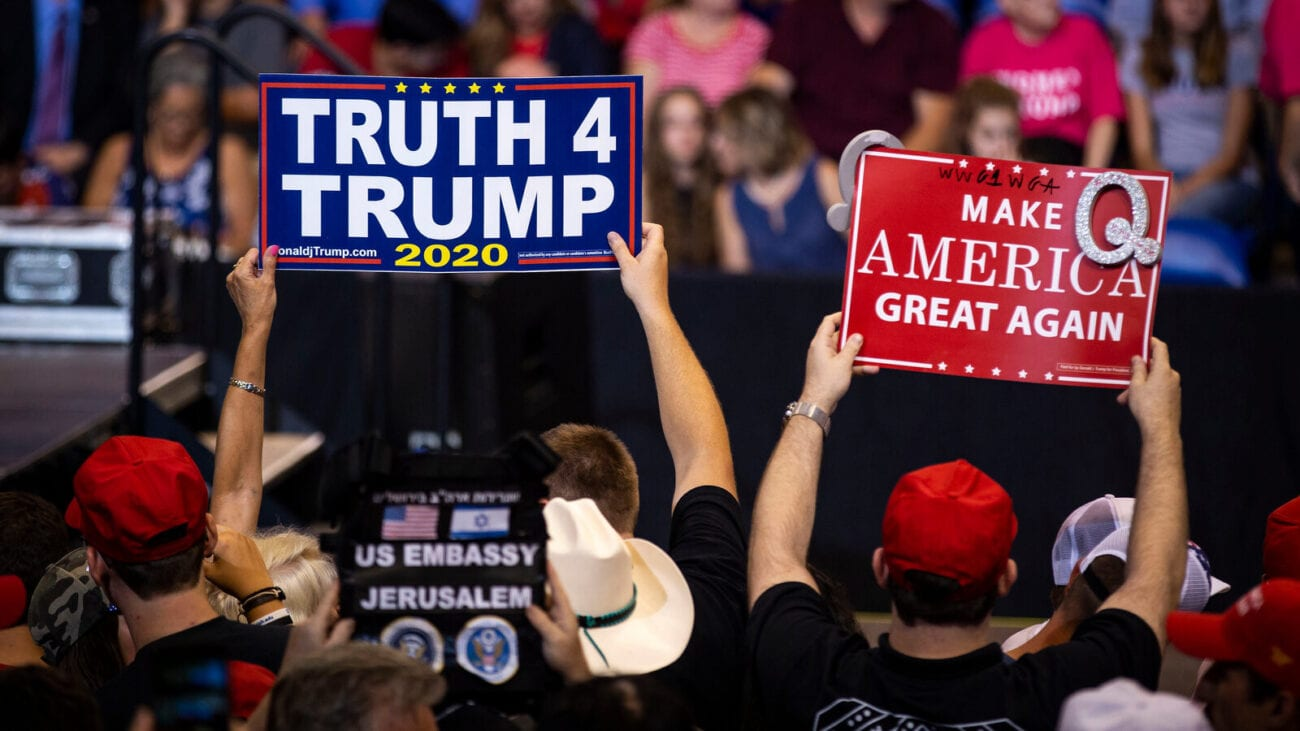 For the first time, Donald Trump acknowledged QAnon in a press conference. Does he support the internet conspiracy theorists? Find out more.