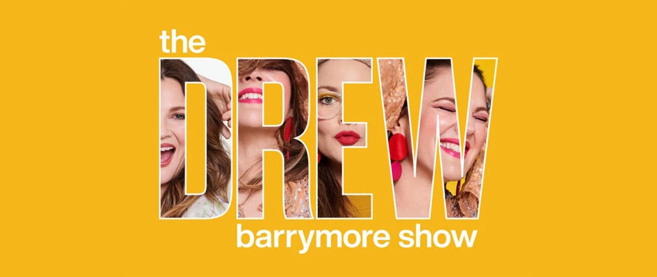 Drew Barrymore has ditched the movies, now she's a daytime TV host with her new show 'The Drew Barrymore Show'.