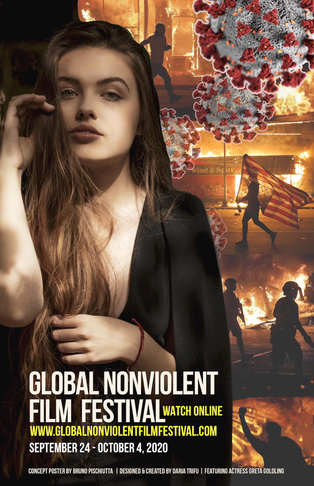 The 9th annual Global Nonviolent Film Festival is getting started today. If you're a filmmaker, you need to attend this one of a kind festival.