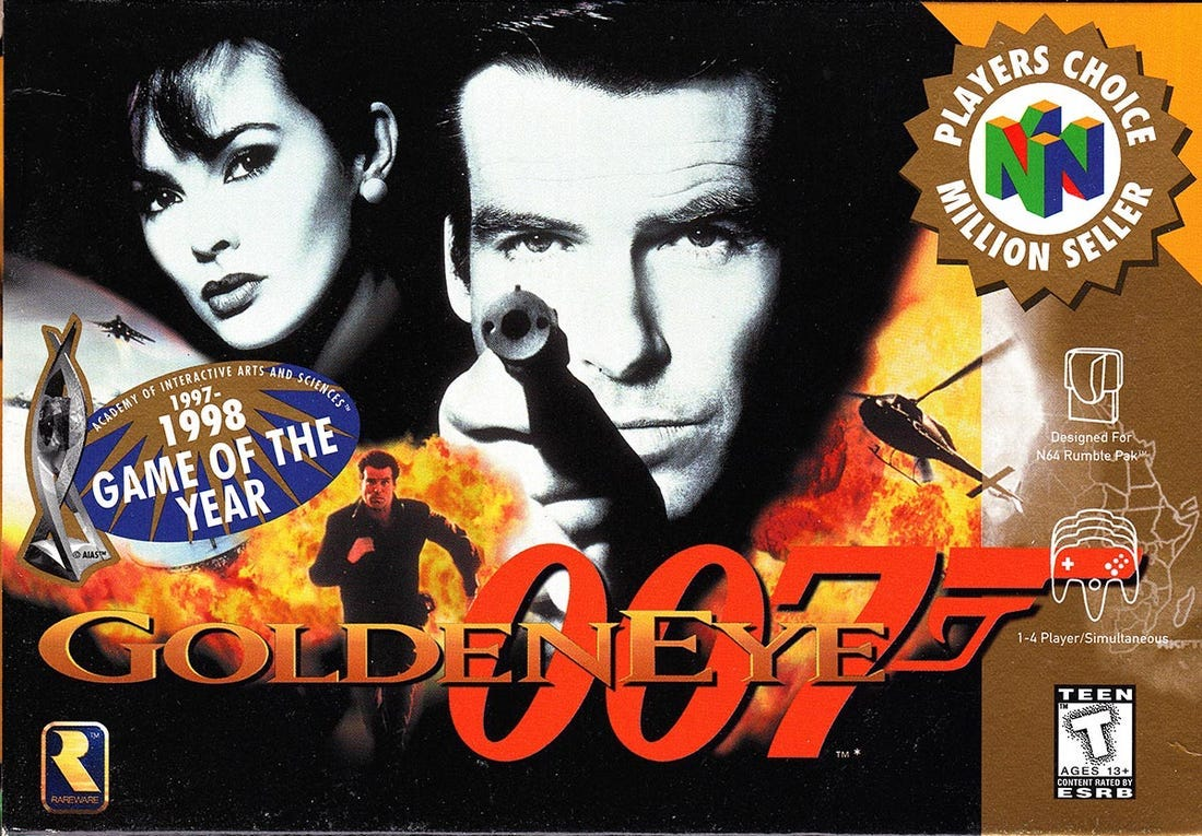 'GoldenEye 007' and more games were inspired by movies. Here are all the movies and the groundbreaking games that followed.