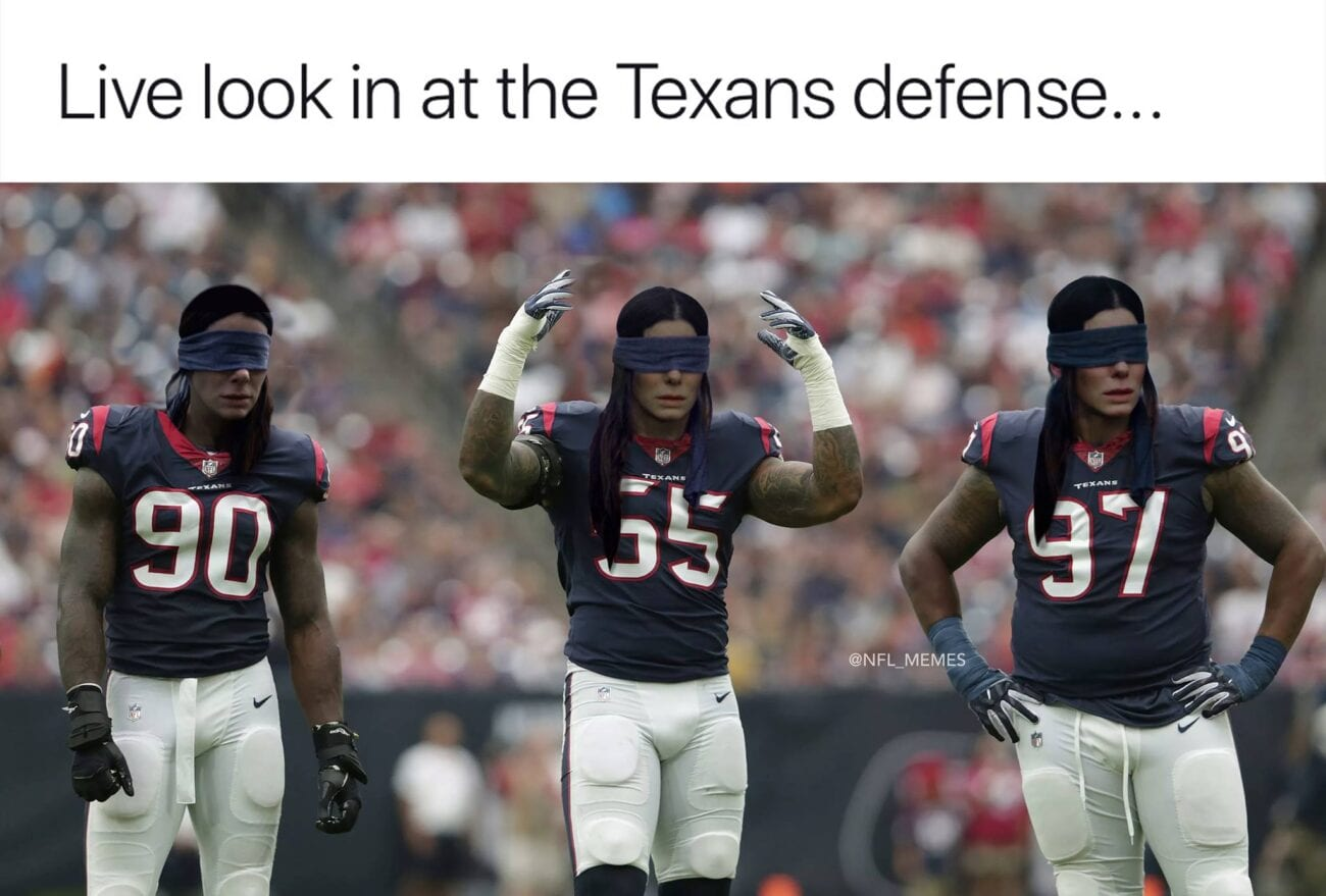 If you're looking for some quality NFL memes to laugh at, then these nine memes will be great to send your fantasy league.