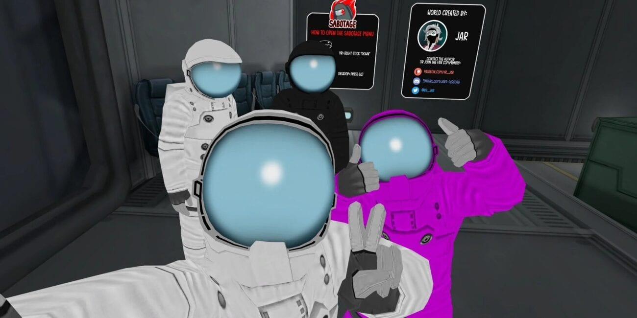 Ready to feel even more immersed in 'Among Us'? Here's how to play the game in virtual reality on VRChat.
