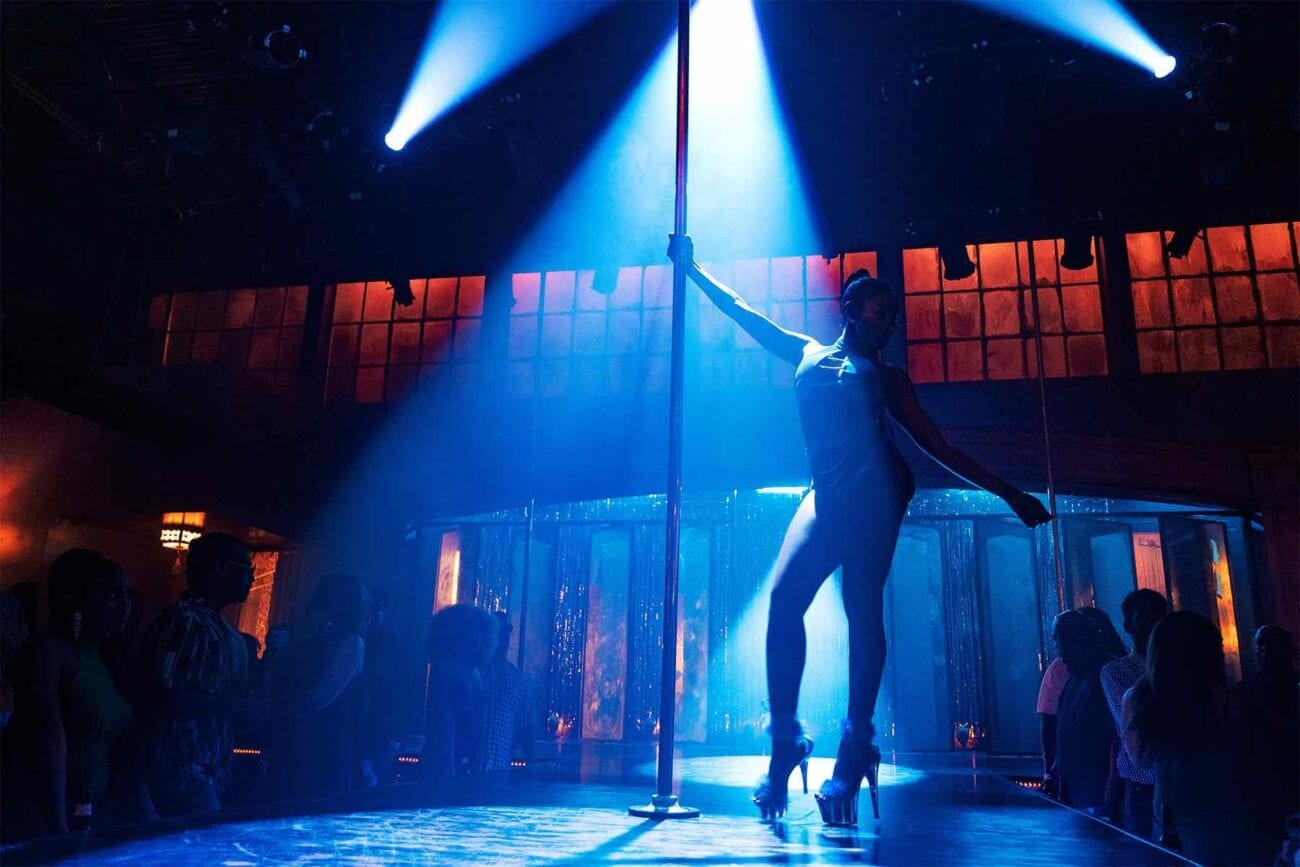 'P-Valley' is a show about pole dancing, and it strives to showcase some of the most impressive stunts around.