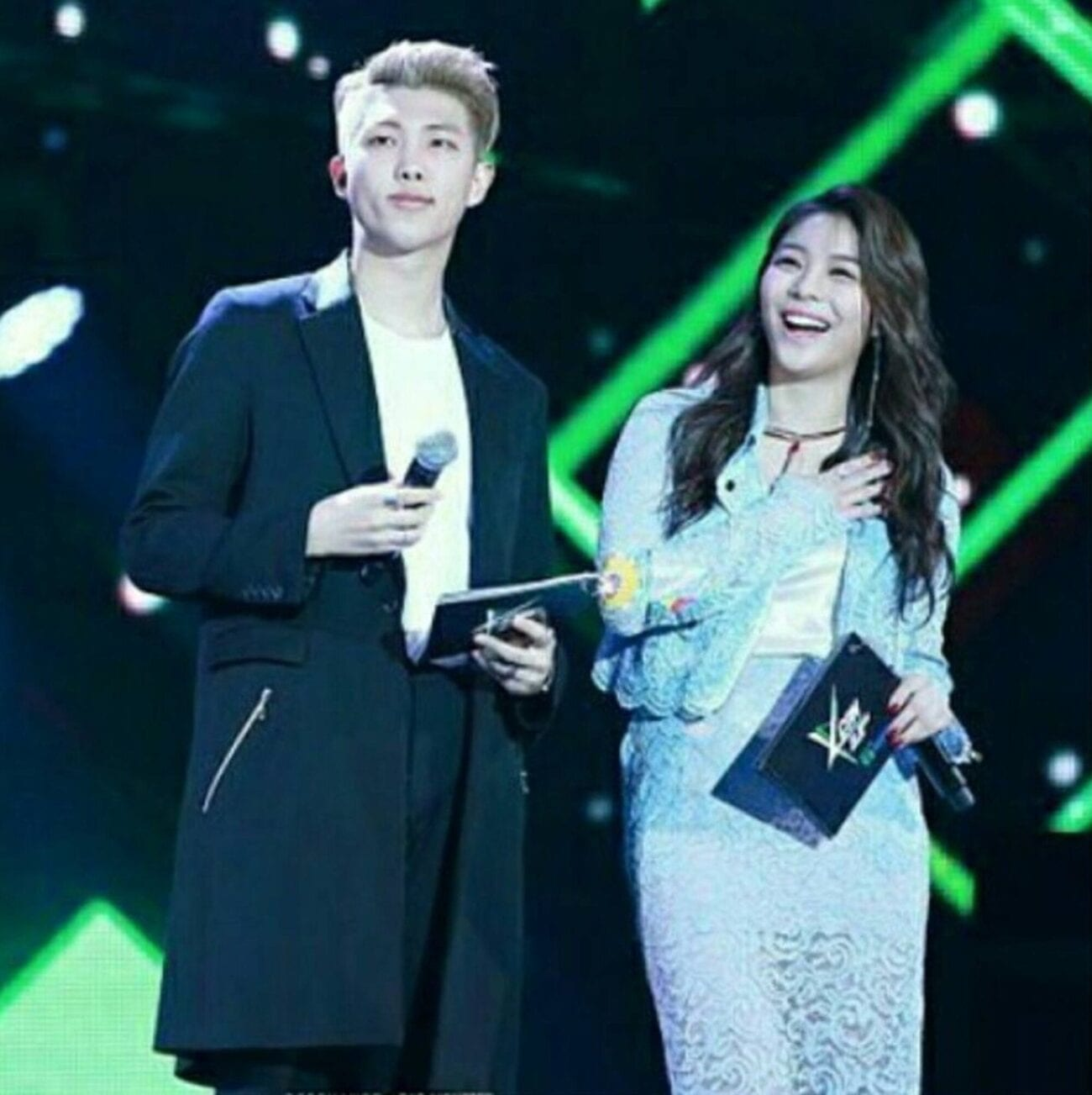 Does RM, leader of BTS, have a girlfriend? Look into all the stars he might have dated and see if there's any truth to the rumors.