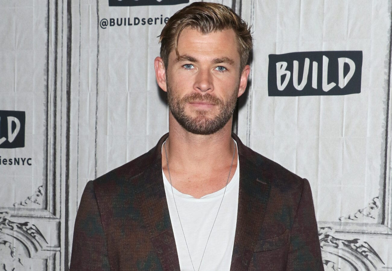 Chris Hemsworth has taken over Instagram with his giant muscles and rock-hard abs. Here are some hot workout pictures of him – for research.
