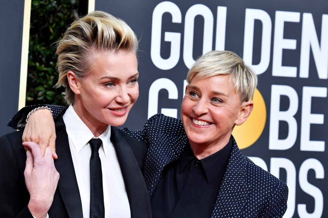 Rumors are running wild that Ellen DeGeneres' wife Portia de Rossi is ready to dump her. What's the controversy this time?