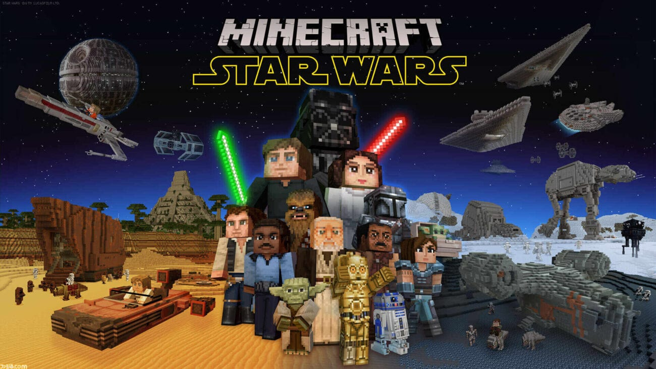 'Minecraft' welcomes the 'Star Wars' galaxy to their latest update. Let's explore the wonders awaiting this exciting crossover.