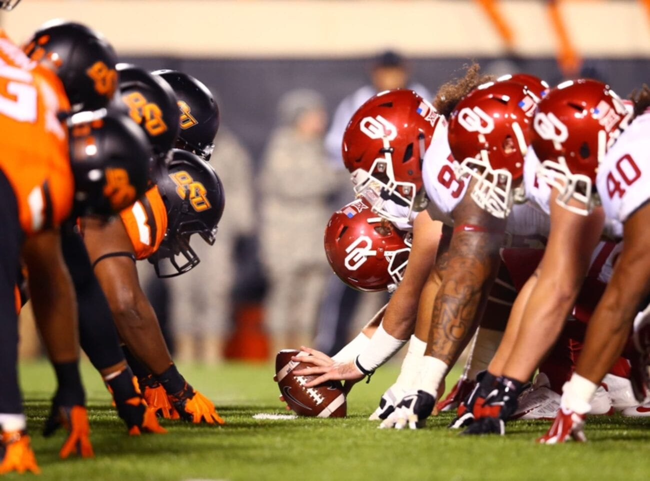 Oklahoma and Oklahoma State are facing off once again tonight in some good ol' fashion football. Here's where you can stream the game.