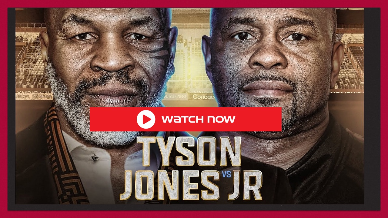 Boxing Tonight Roy Jones vs Mike Tyson live stream online for free with Reddit. Here's how you can watch the fight.