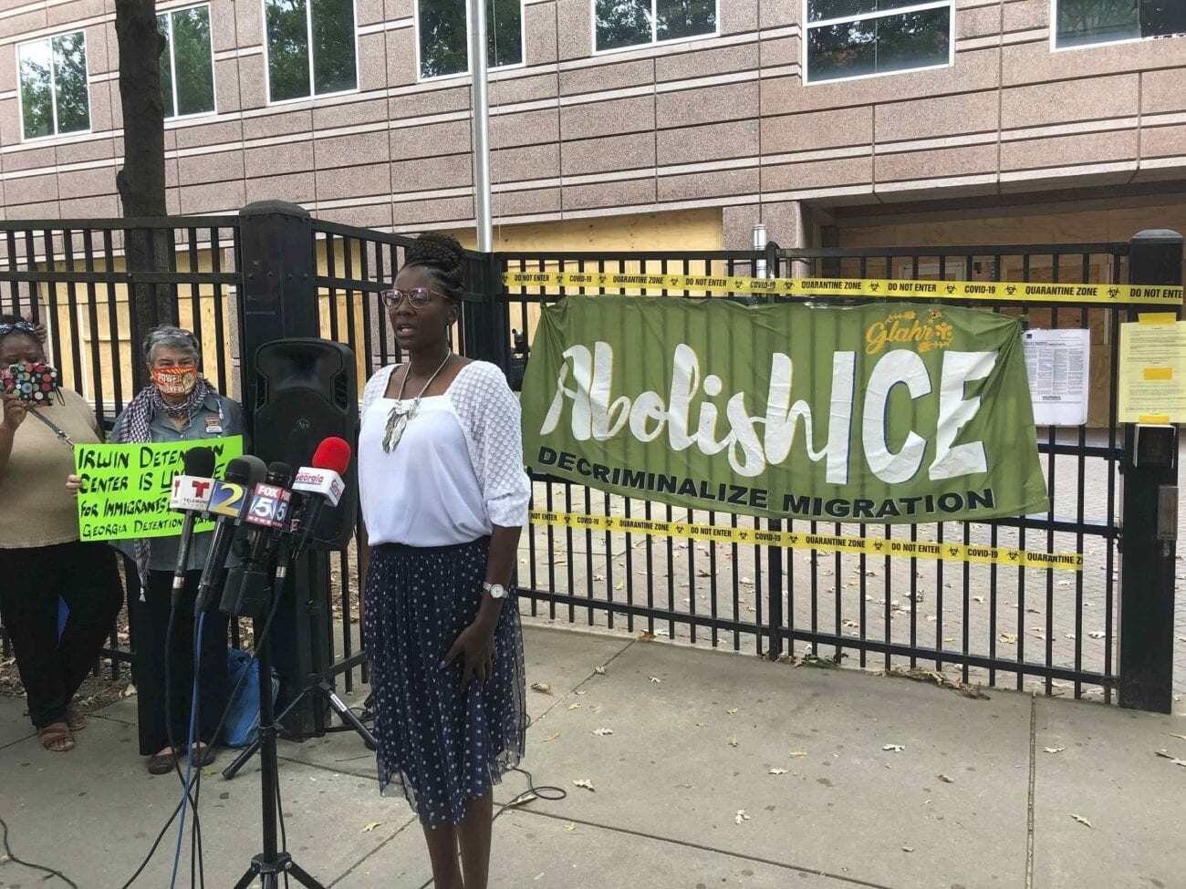 Here are just a few of the stories these women have shared and what horror they faced while in ICE Detention Centers.
