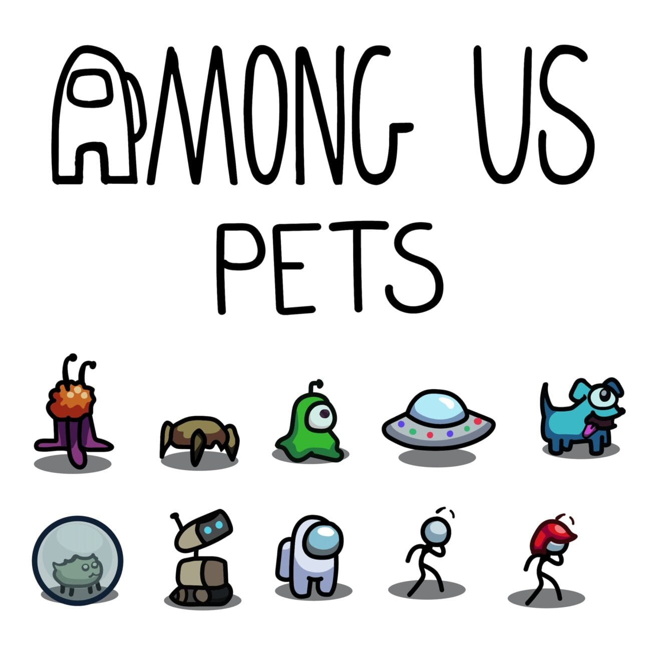 Don't miss out on getting the free 'Among Us' pet from Twitch! Now you can have the Twitch Glitch follow you around.