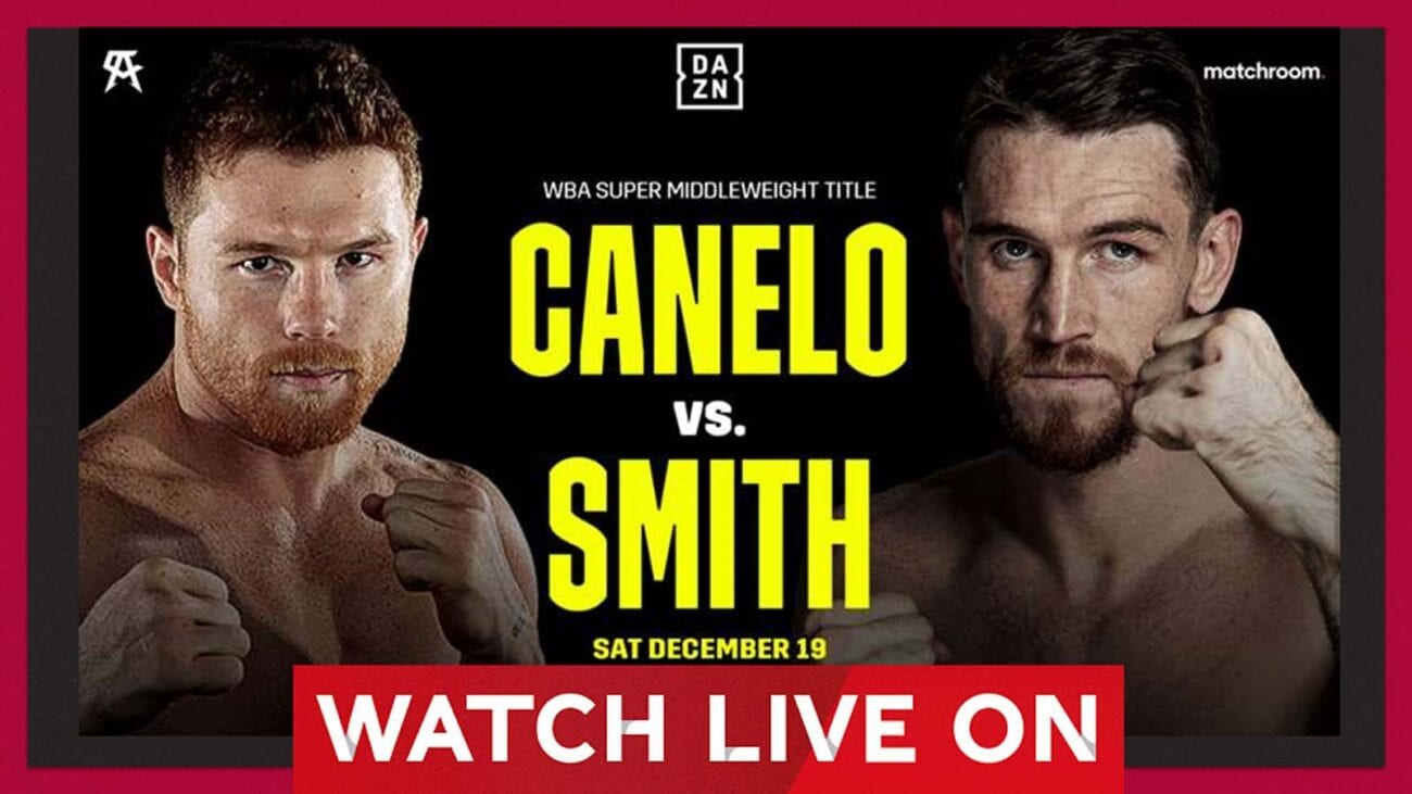 Don't miss the Canelo vs Smith fight when it goes live! Here's how to watch a stream for free today.