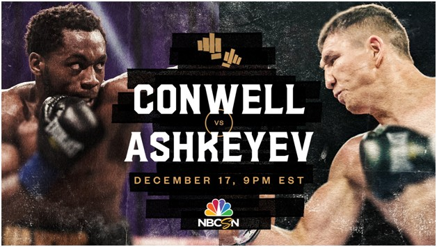 Madiyar Ashkeyev is set to fight Charles Conwell . Find out how to live stream the fight online for free.