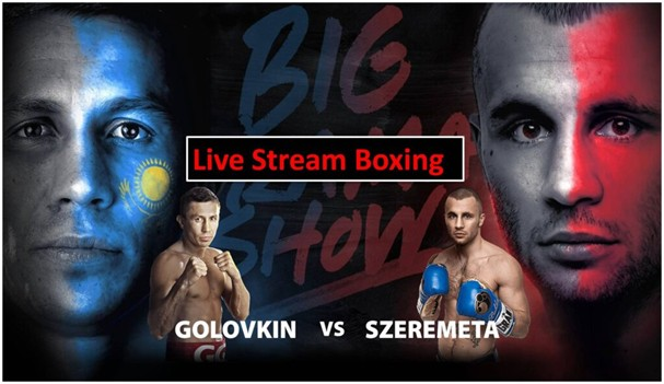 Who will win between Golovkin and Szeremeta? Find out by live streaming the event for free on Reddit.