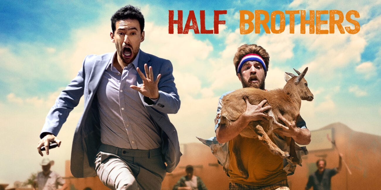 'Half Brothers' is a hilarious new buddy comedy. Find out how to watch 'Half Brothers' for free online.