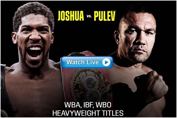 Anthony Joshua vs Kubrat Pulev is almost here. Find out how to stream the fight on Reddit and Twitter.