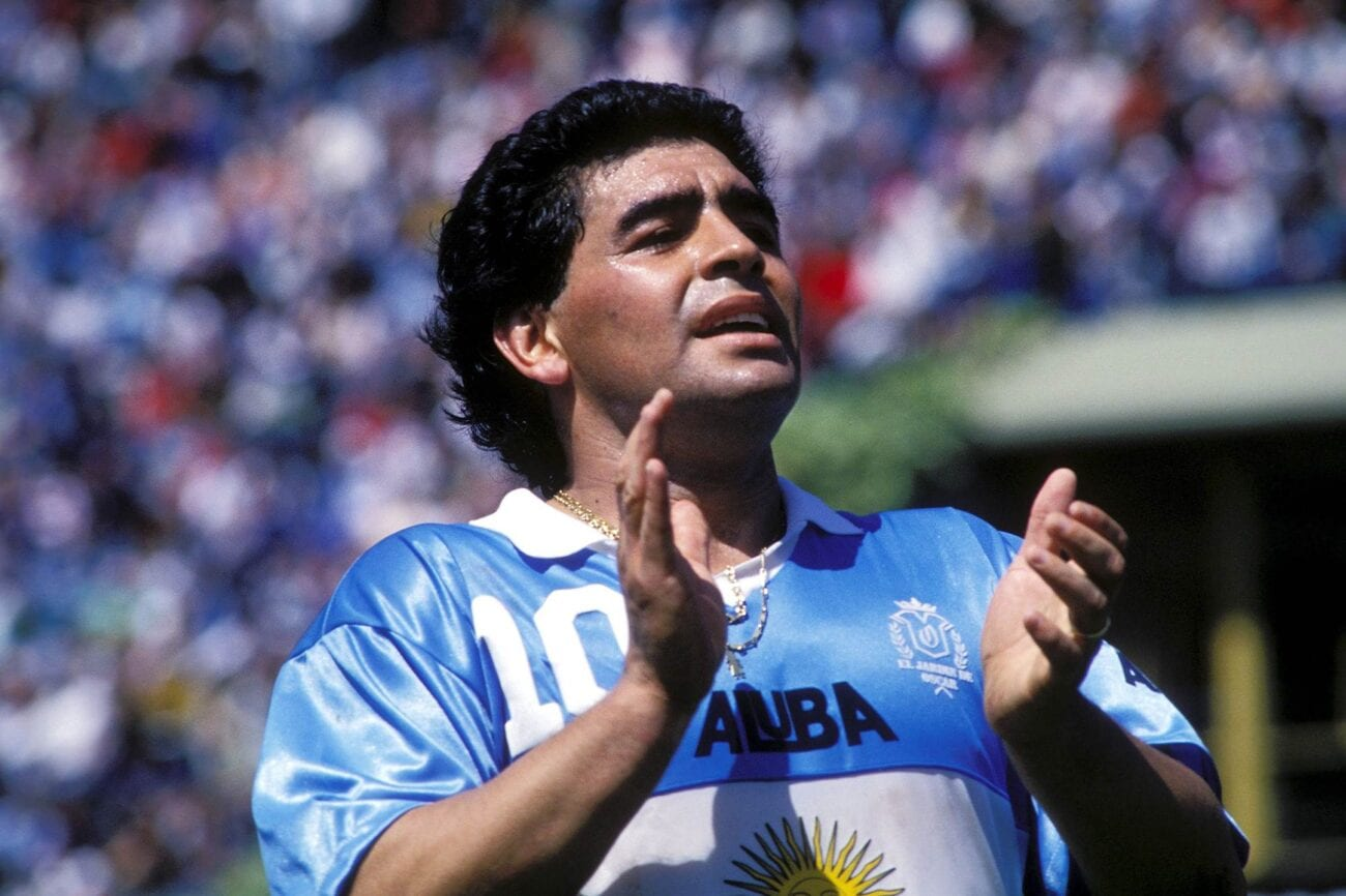 Diego Maradona had a godlike status on the football field, but off the field, it was a different story. What was he accused of?