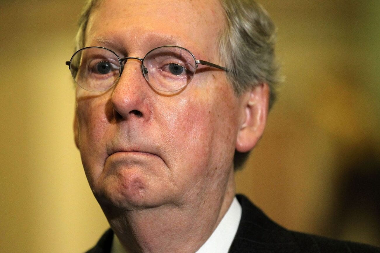 While we wish no death or harm on the reptilian-looking Senate Majority leader, Twitter isn't holding back. Here are hilarious Mitch McConnell memes.