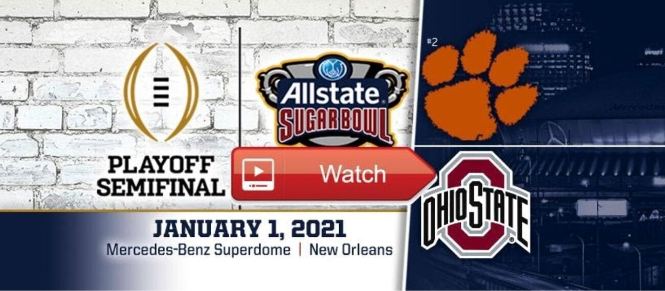 Ohio State is set to take on Clemson in the 2021 Sugar Bowl. Find out how to live stream the game on Reddit for free.