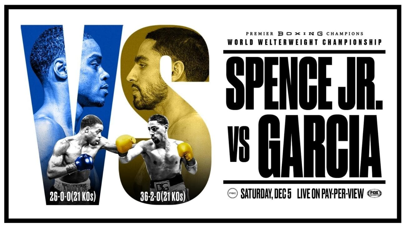 Check out the Spence vs Garcia boxing live streams here.