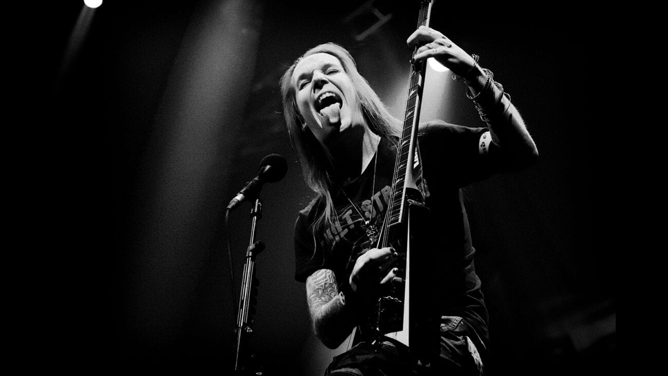 """""""Death be not proud, though some have called thee mighty and dreadful, for thou art not so."""" Come join us as we honor Children of Bodom's Alexi Laiho."""