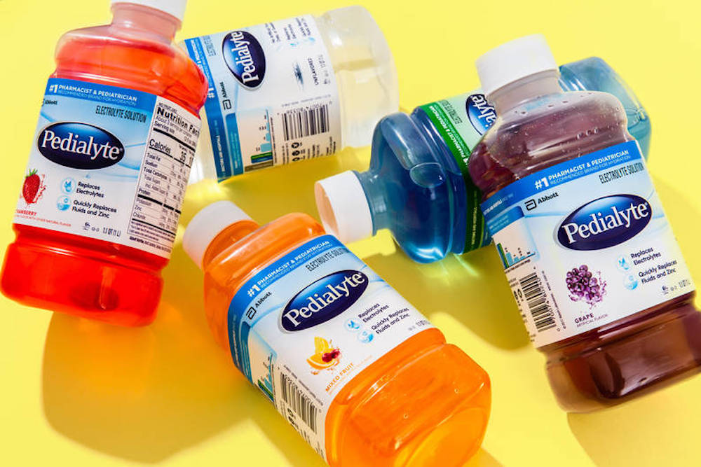 Post-holiday hangovers are the dreadful consequences of partying. Could the homemade hangover cure Pedialyte be the answer?