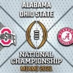 Alabama vs Ohio State is the big game for the CFP National Championship. Discover how to live stream the game here.