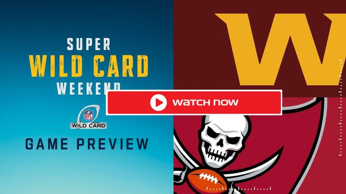 Washington is going to square off against the Buccaneers. Find out how to live stream the game for free.