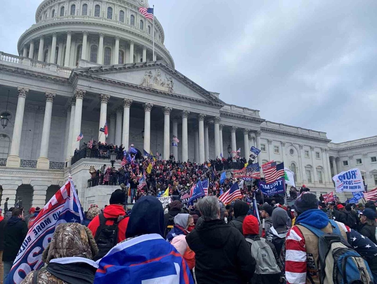 A lot has happened at the Capitol Building today, and some reports are also saying D.C. had multiple bomb threats.