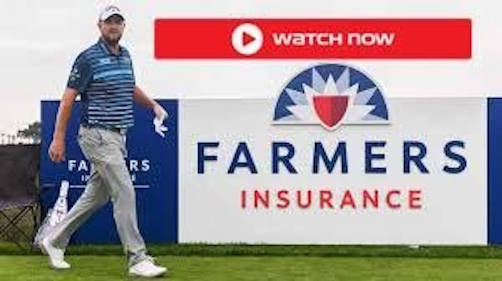 PGA Tour event with the Farmers Insurance Open at Torrey Pines Golf Course is here. Watch the live stream now.