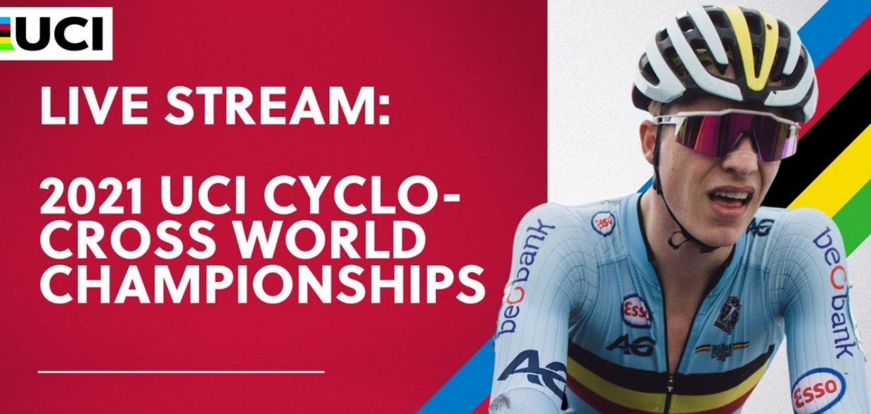 It's time for the 2021 UCI Cyclocross Championships. Find out how to live stream the event online for free.