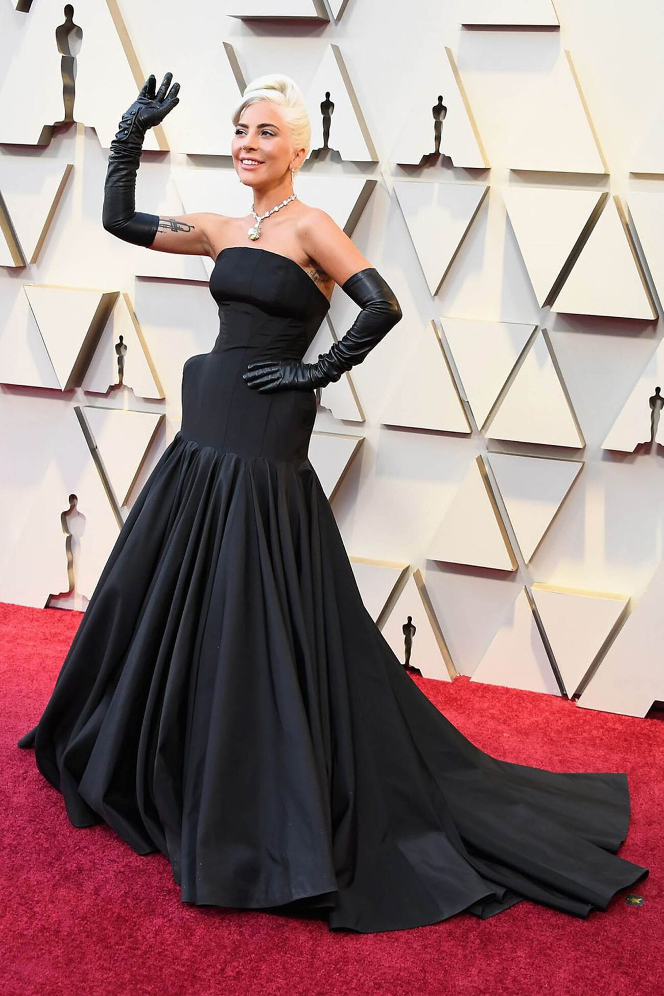 Lady Gaga is a fashionista of the first order with her own iconic style. This layout proves she has gone way past the meat dress!